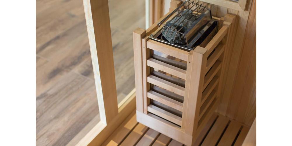 Com'è fatta una Sauna Finlandese