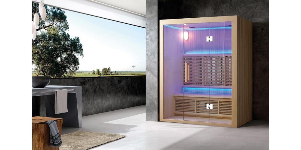 Fare la cromoterapia nella sauna a infrarossi