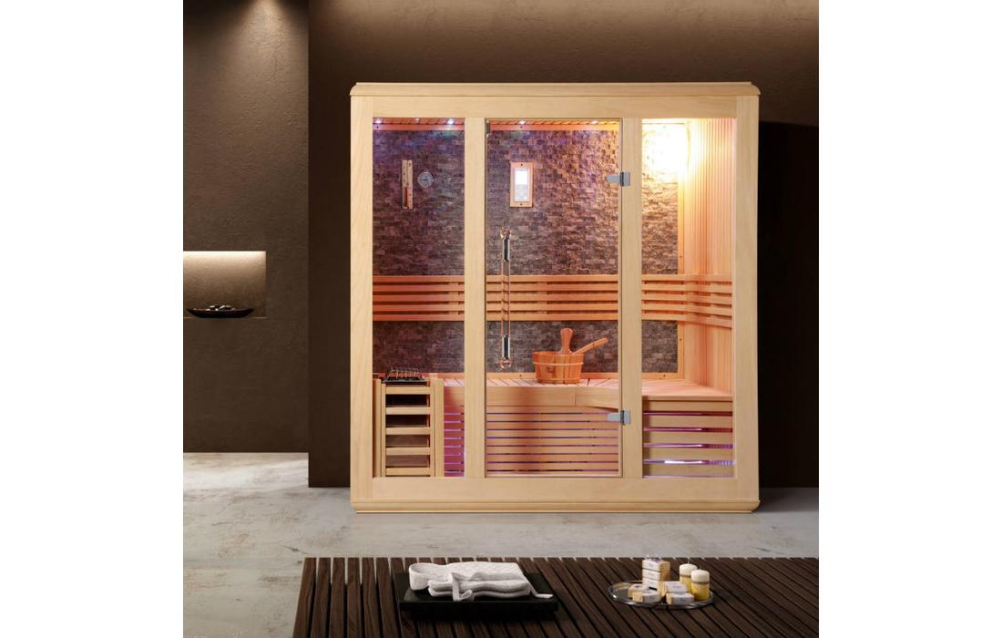 sauna finlandese canazei interno 1