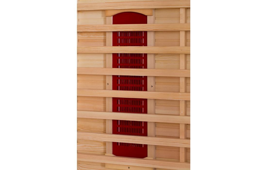 sauna infrarossi roma schienale