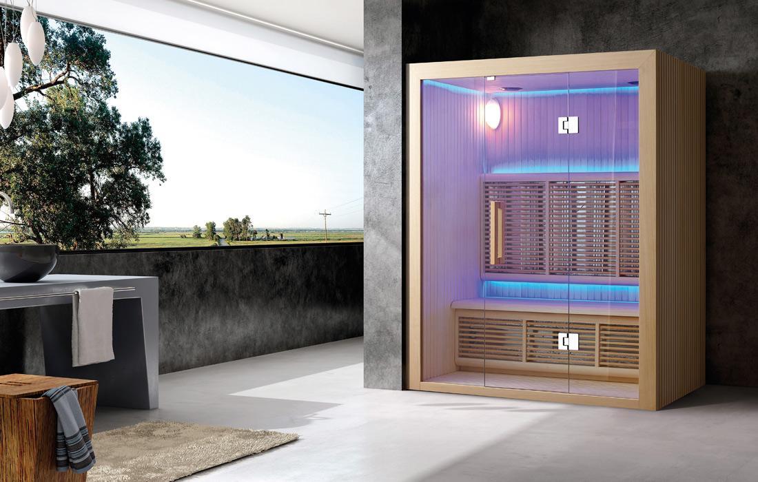 Sauna infrarossi Salisburgo frontale