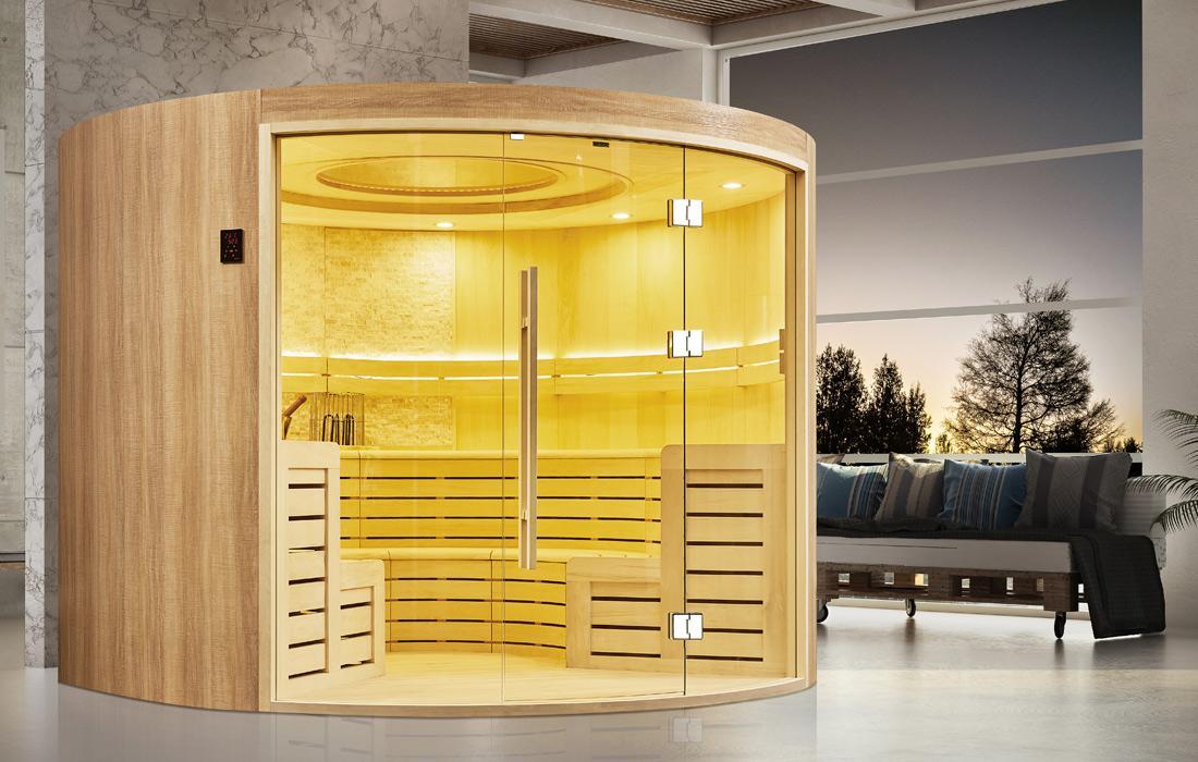 Sauna Finlandese Graz laterale
