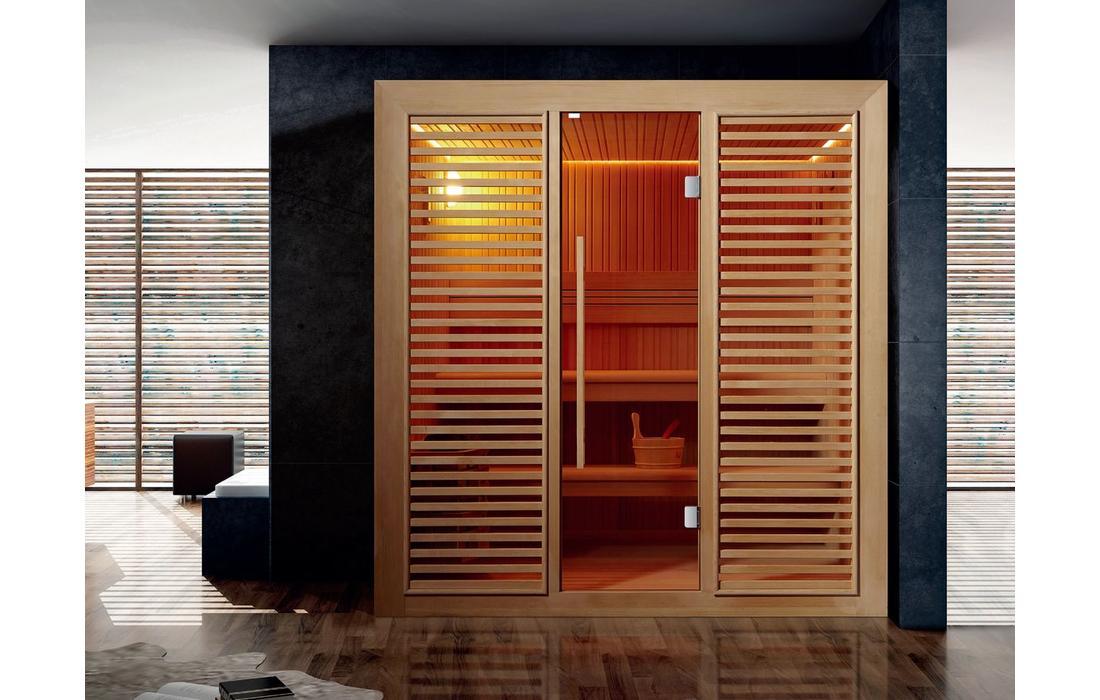 sauna finlandese Garmish-clessidra