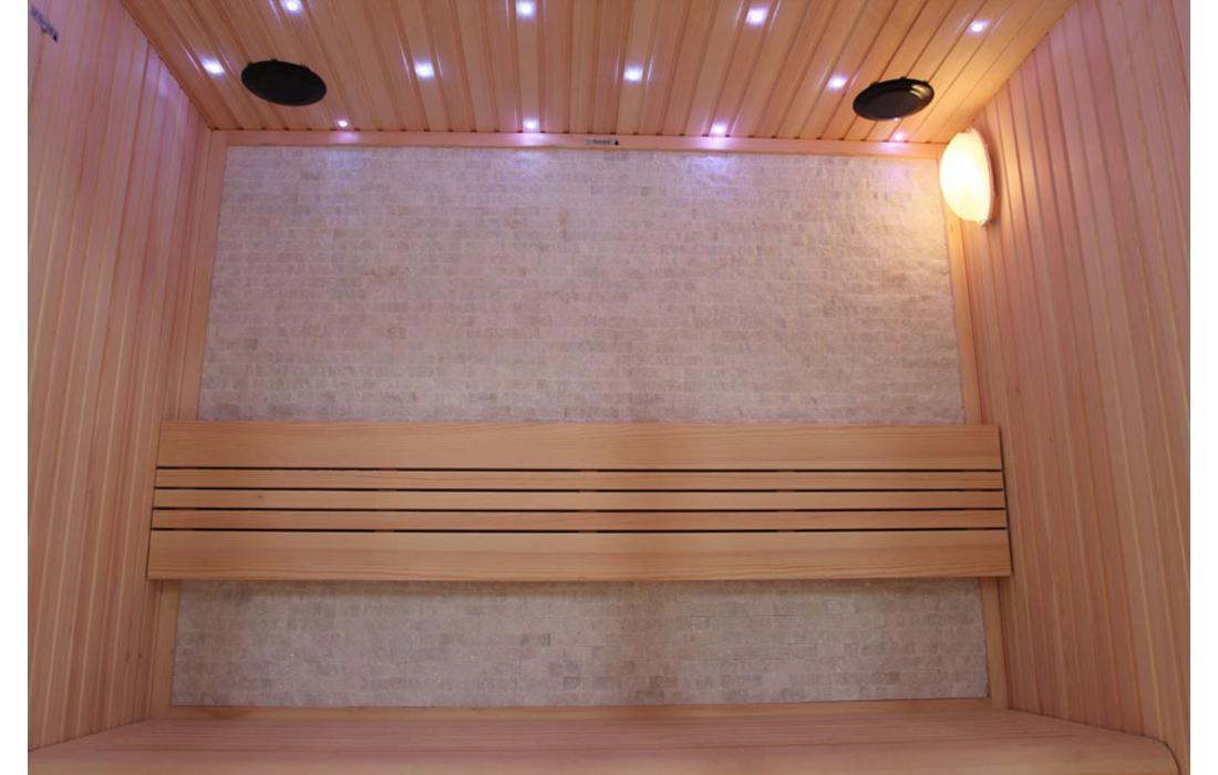 sauna finlandese canazei