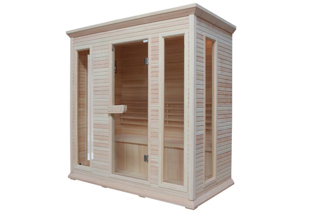 sauna finlandese cortina generale
