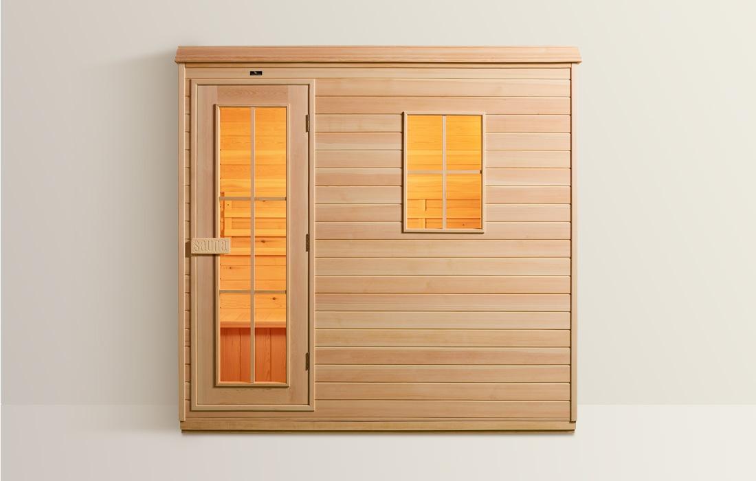 Sauna Finlandese Dimhora Courmayeur dettaglio 1