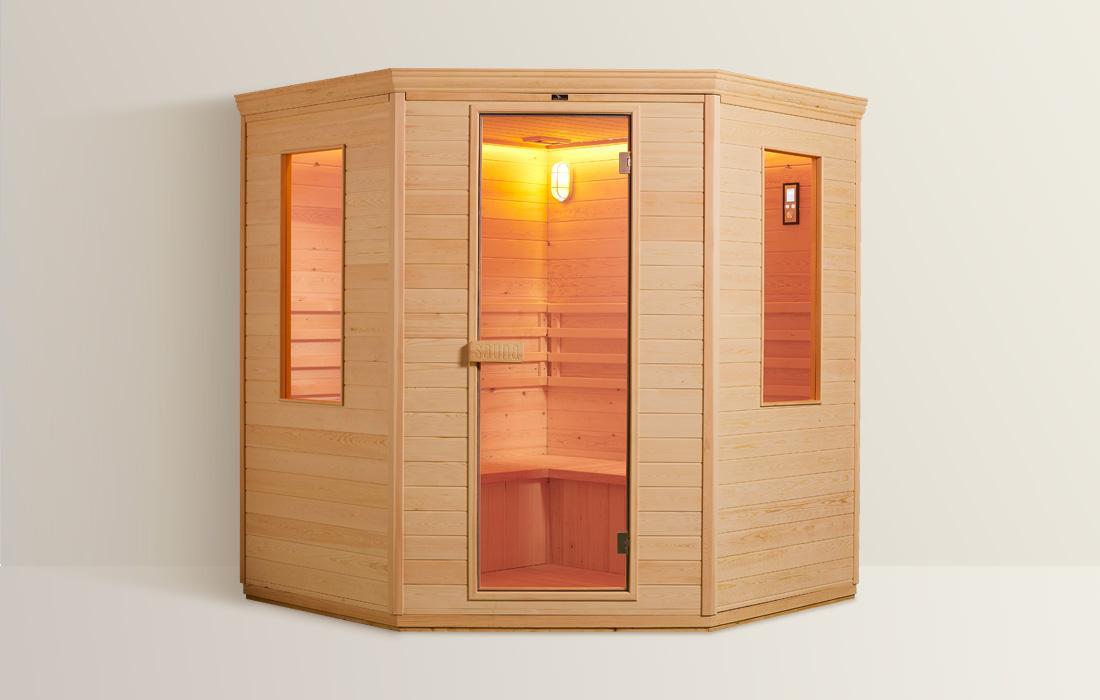 Sauna Finlandese Dimhora Genova dettaglio 1