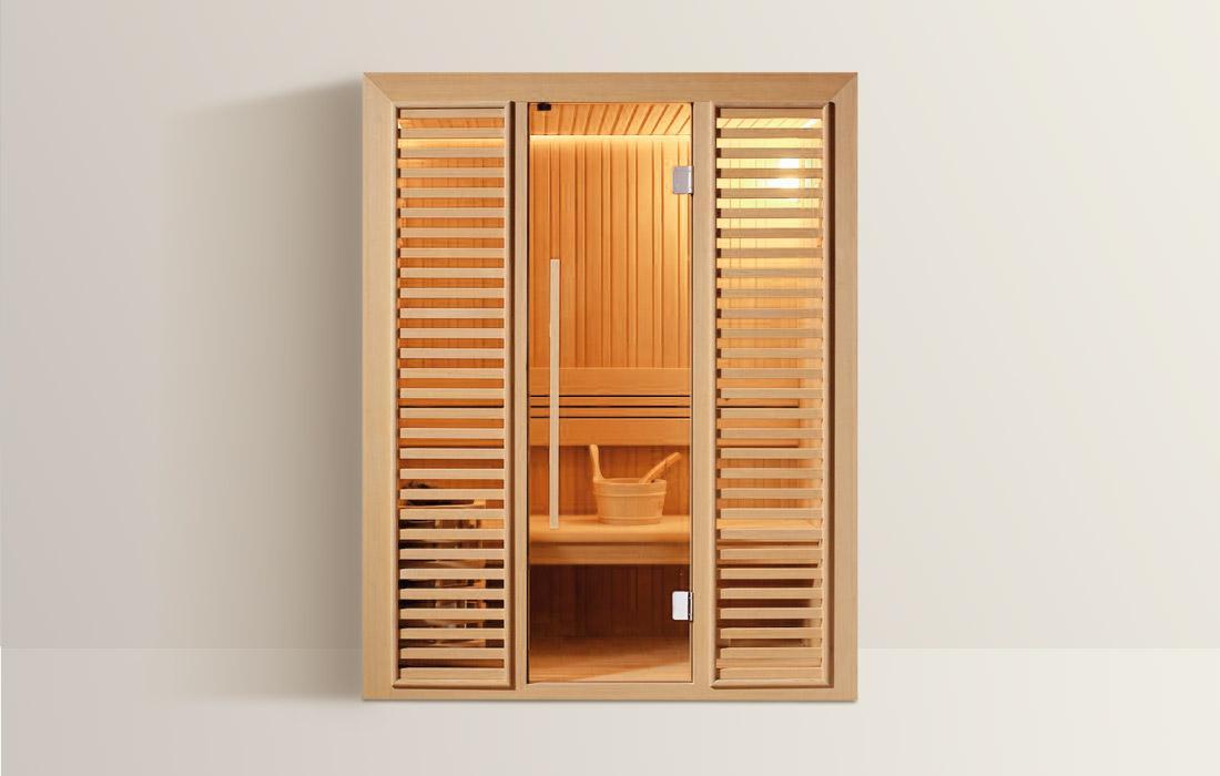 sauna finlandese Lienz-clessidra