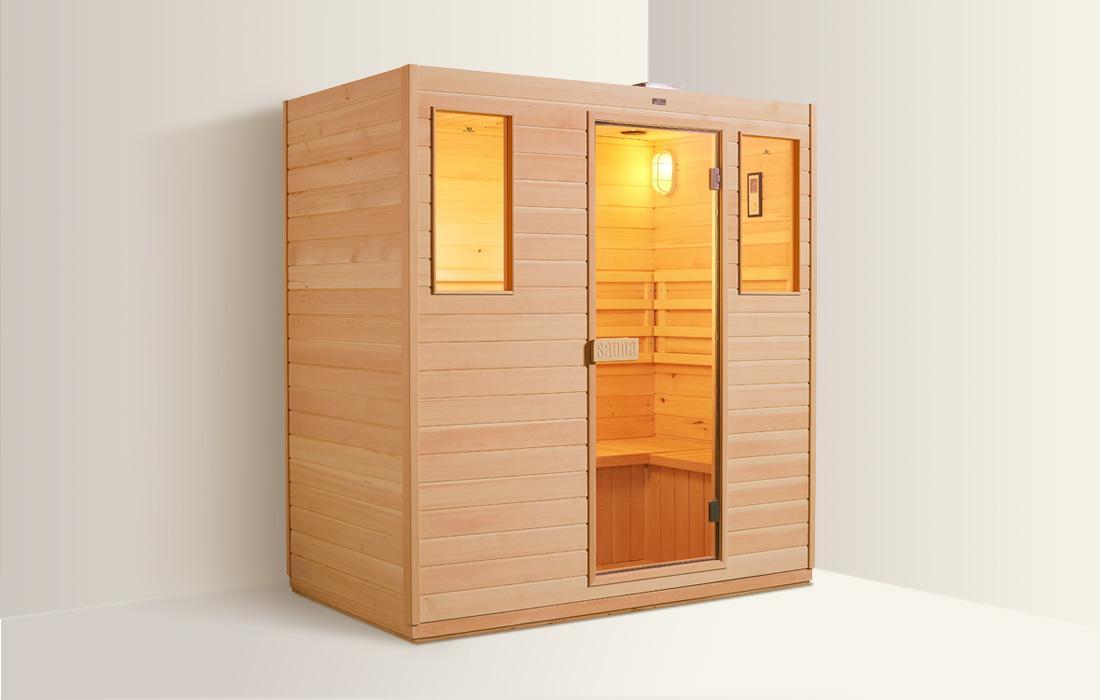 Sauna Finlandese Dimhora Udine 180cm dettaglio 14