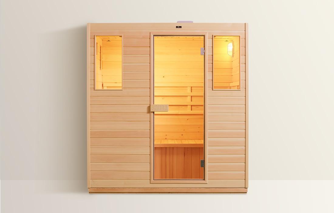 Sauna Finlandese Dimhora Udine 180cm dettaglio 1