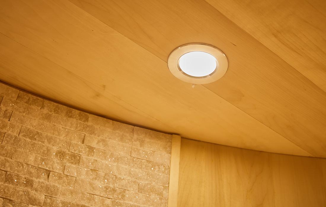 Sauna Finlandese Graz Luce