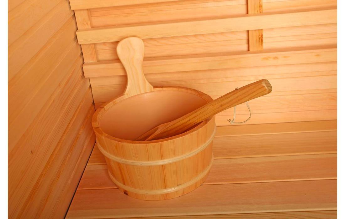 Sauna Finlandese Dimhora Saint Moritz dettaglio 2