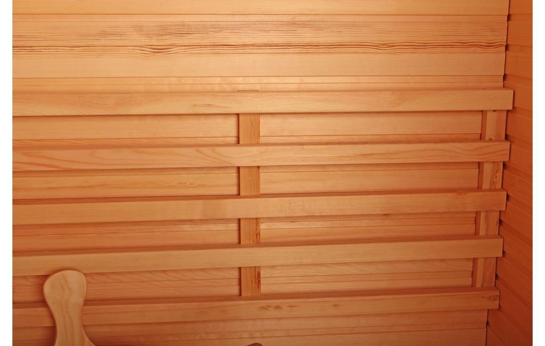 Sauna Finlandese Dimhora Saint Moritz dettaglio 1