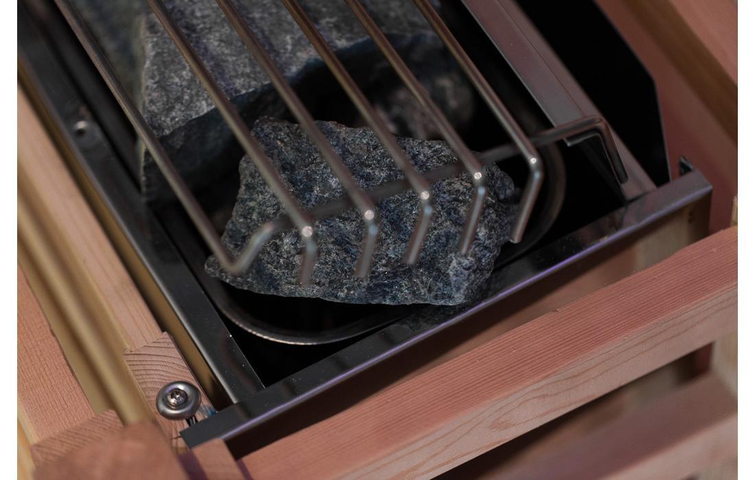 Sauna Finlandese Dimhora Saint Moritz dettaglio 5