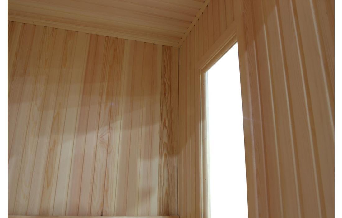 sauna finlandese torino interno finestra