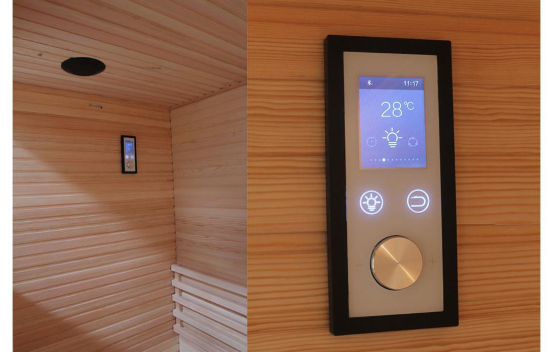 Sauna Finlandese Dimhora Udine 180cm dettaglio 3