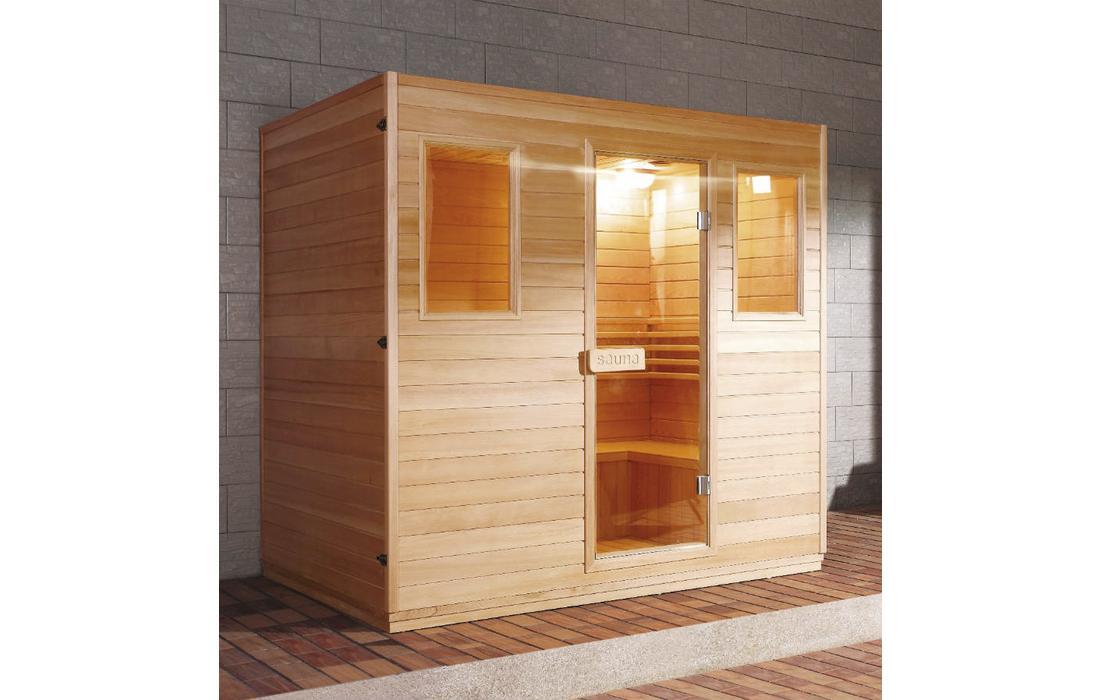sauna finlandese cervinia stufa dimhora
