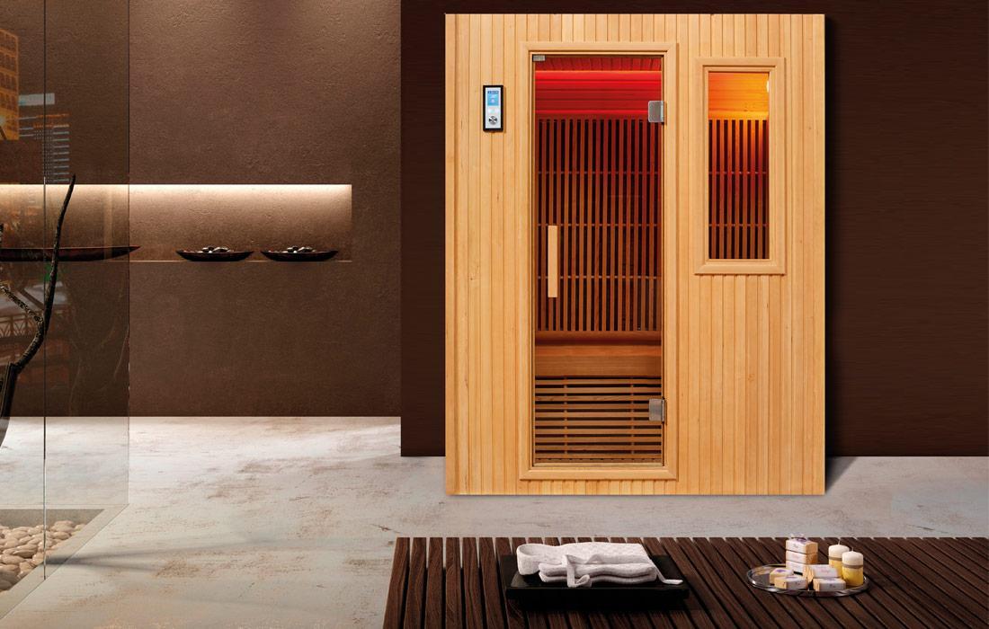 Sauna Infrarossi Brno Frontale nis
