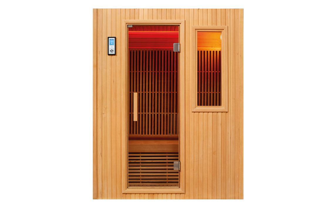 Sauna infrarossi Brno Frontale