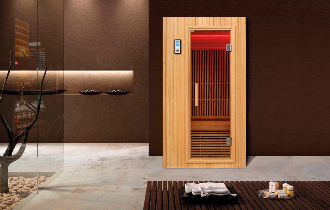 Sauna infrarossi Ginevra Frontale Esterno