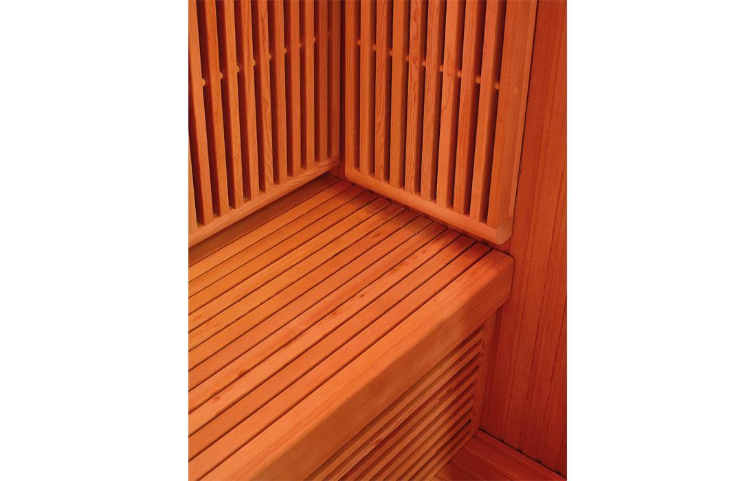 Sauna infrarossi Ginevra Panca