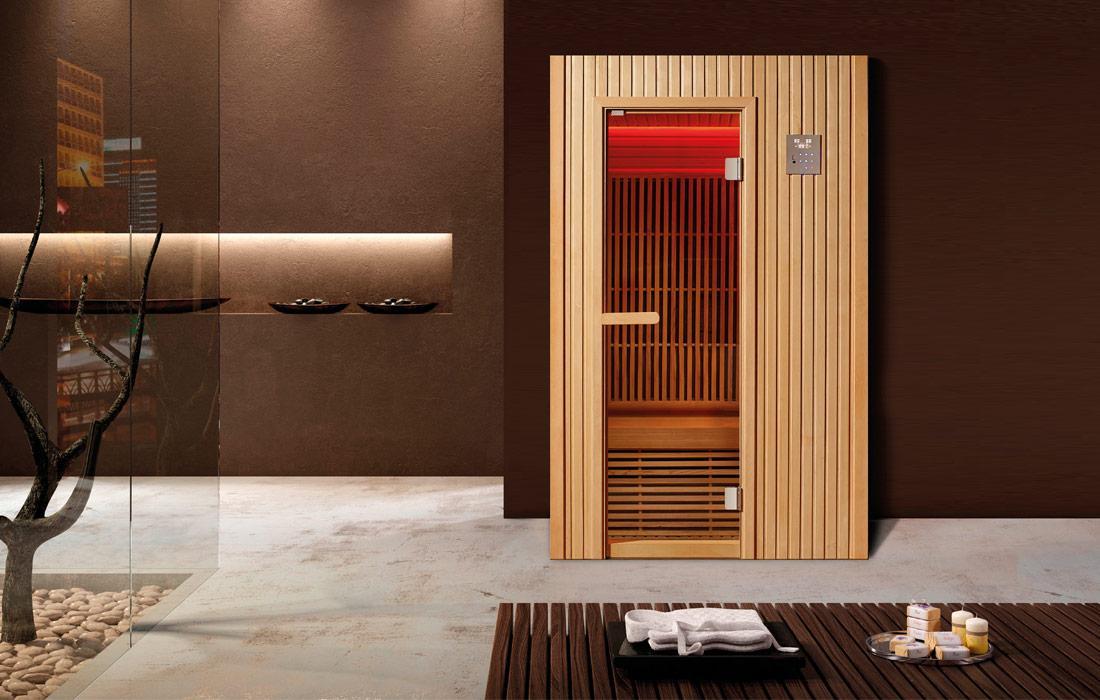 Sauna infrarossi Grenoble tetto