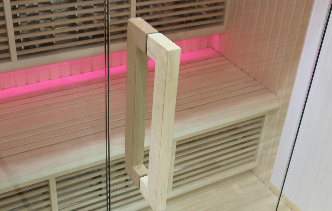 Sauna infrarossi Salisburgo maniglia