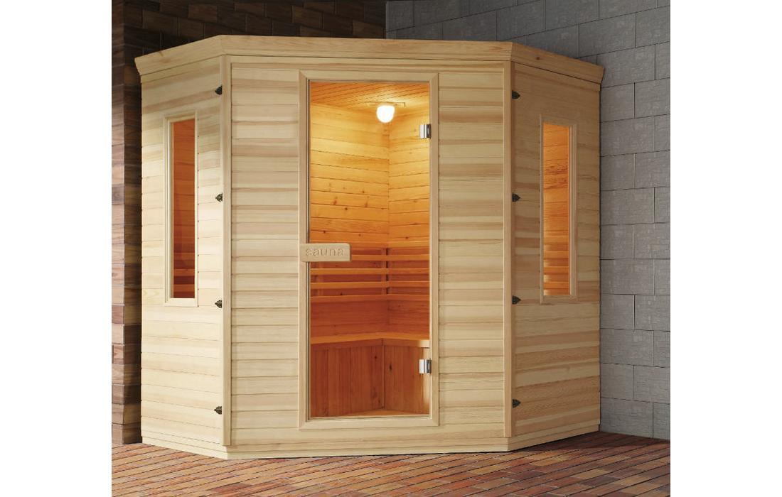 sauna finlandese genova panca