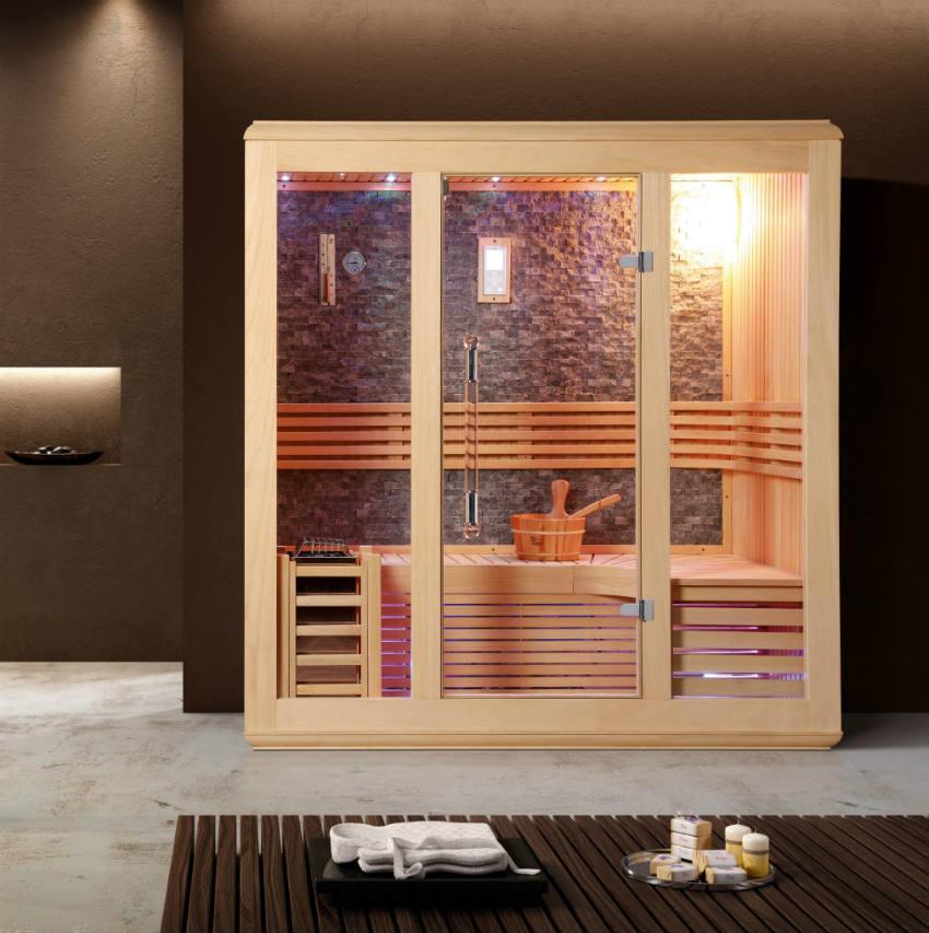 Sauna Finlandese Canazei - Sauna e Saune