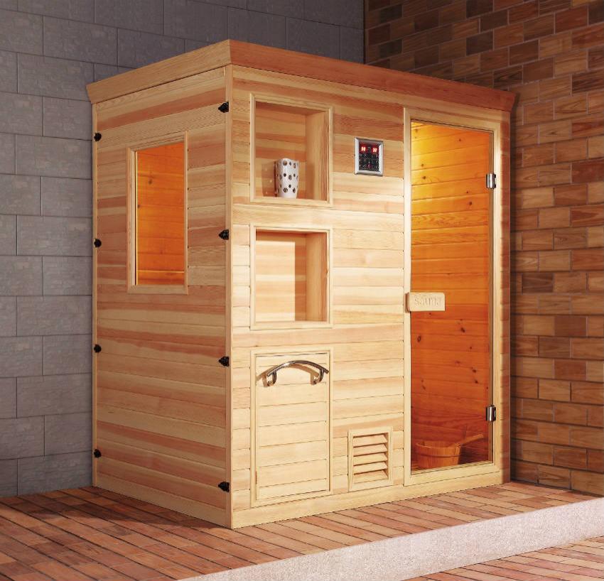 Sauna Finlandese Cervinia - Sauna e Saune