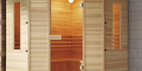 La sauna in casa, come installarla